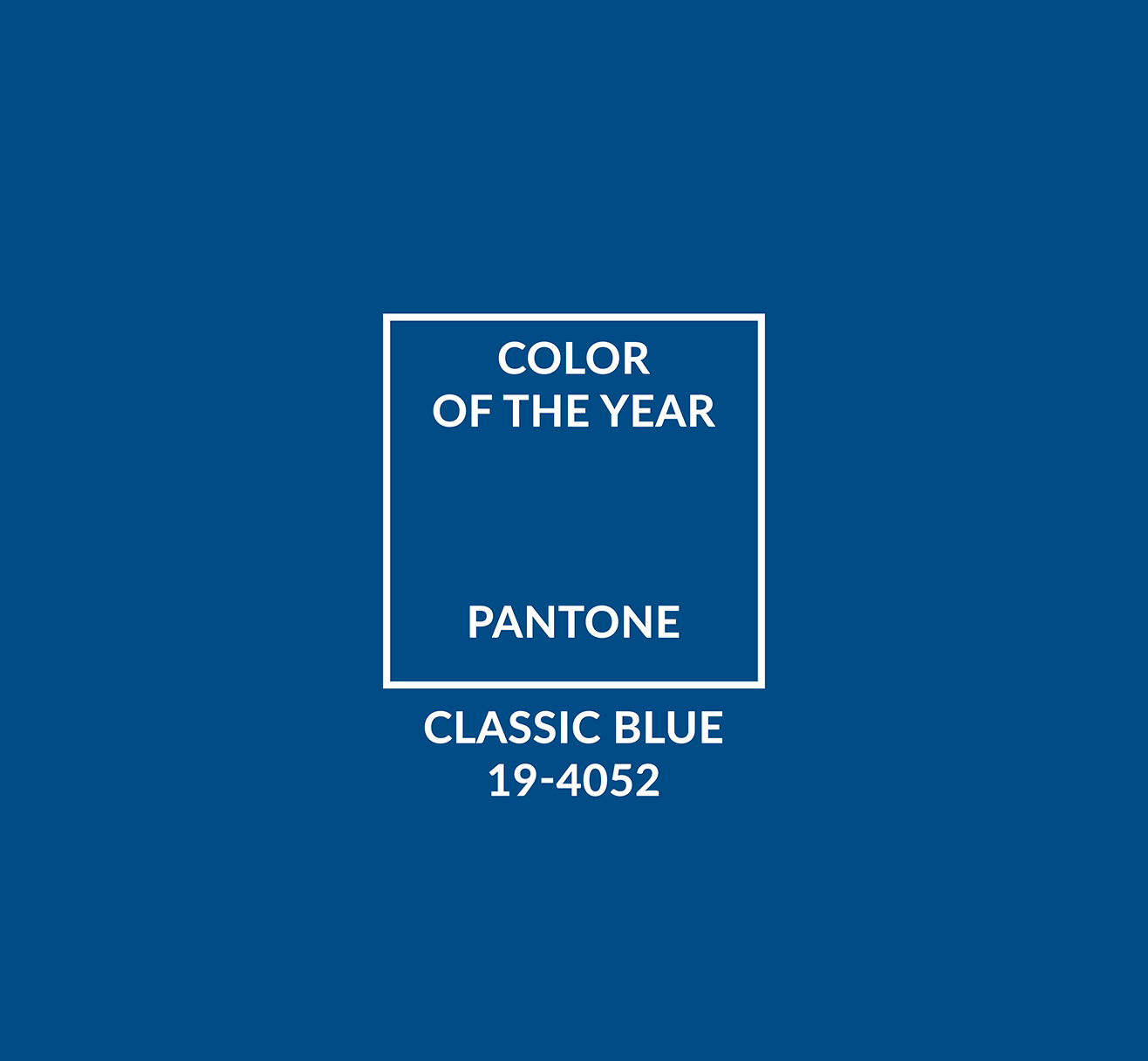 Pantone's color of the year is Classic Blue | In And Out by FillMed