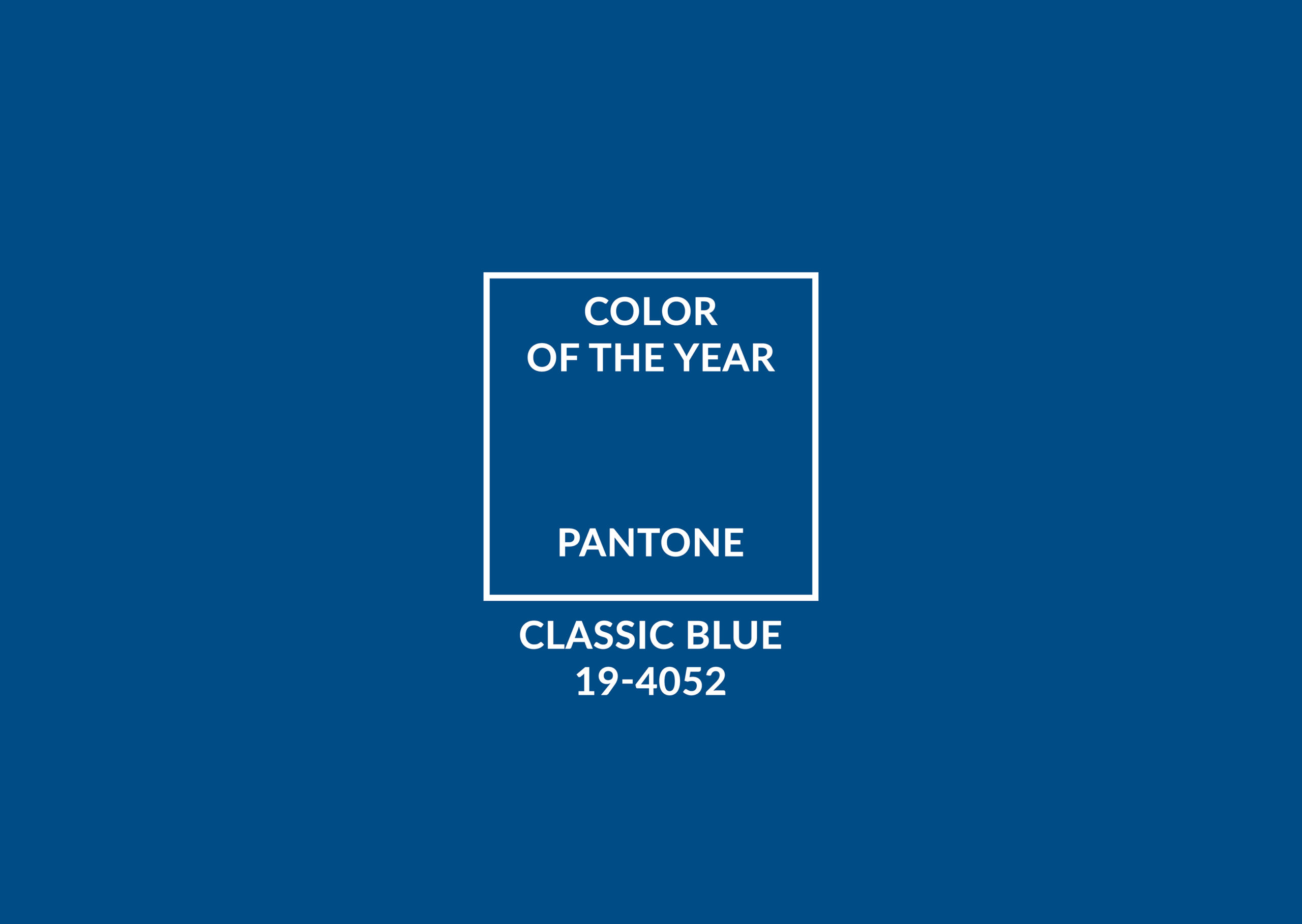 Classic Blue : the Pantone color of the year 2020 | In And Out by FillMed
